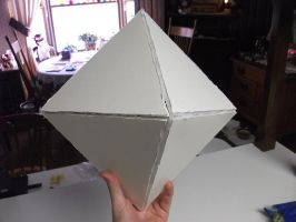 The Fifth angel Ramiel- Before paint by KitoCosplay