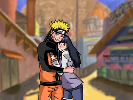 "Naruhina - ""let's take a photo"" by XJose-chanX"