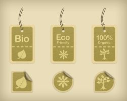 Eco-friendly tags and stickers by DuckFiles