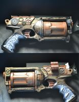 Steam punk gun by NKGenesis