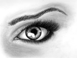 Eye Study. by tenArt