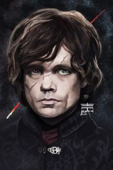 Tyrion Lannister by justinwharton