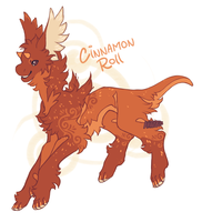 Fall Finkx CINNAMON ROLL Auction closed by Hauket