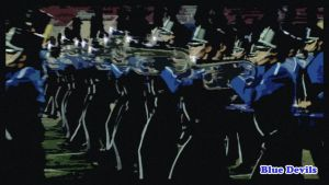 Blue Devils Horn Line Up by sevnated