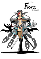 League Of Legends Merge Fiora by Varuna00