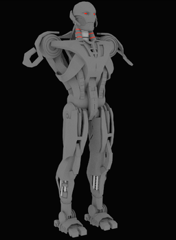 Ultron Prime WIP2 by TheUnityStudios
