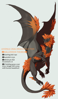 Crag Dragon AUCTION by Nhyra