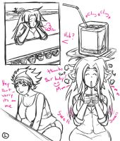 Mattie's fan art comic 1 by shydude