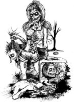 Hillbilly Undead Trash by allangraves