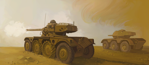 Armored cars by U-Joe
