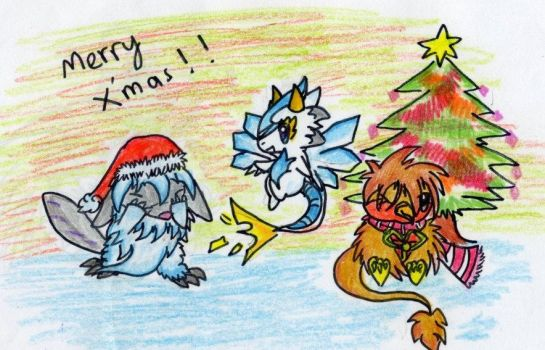 Christmas Greetings and all by Liestiawati