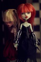Francine and Lucy OOAK Monster High doll by Szklanooka