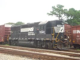 Norfolk Southern 7040 by CNW8646