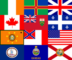 Flags of My Heritage by Rodef-Shalom