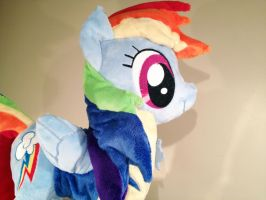 Rainbow Dash: Wonderbolt Cadet by Yunalicia