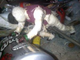 Edge of Reality (Stop motion figure) 7 by SCOTTYVENGEANCE