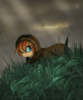 Raining by ezpups