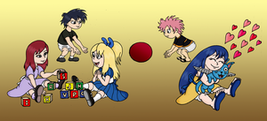 Fairy Tail Day Care by Yeldarb86
