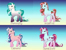 my adoptables OPEN by ElementOfGaming