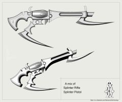 Splinter Rifle by sMadman