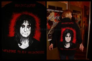 Alice Cooper SHIRT by Red-Szajn