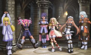 Damsels of Symphonia by erikson1