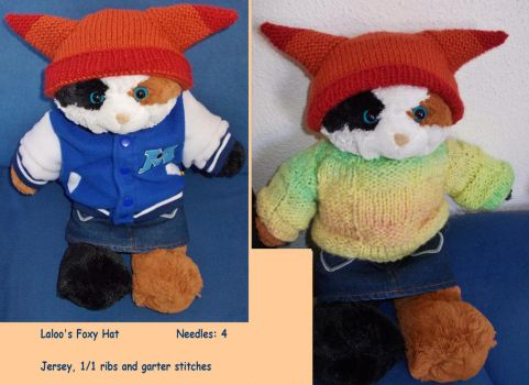 ''Foxy Hat'' for Laloo by MoonyMina
