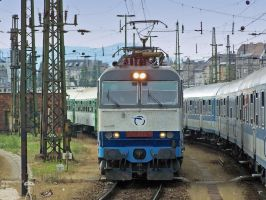 ZssK 350 with Eurocity train by morpheus880223