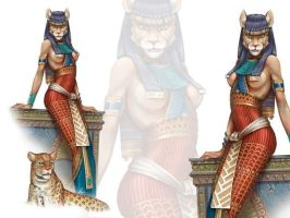 Bastet by Sytrya