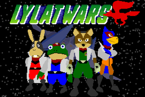 Lylat Wars - Starfox 64 - Pixel Edit by DanSoup