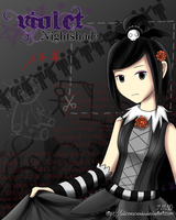 MySims A - Violet Nightshade by lolicrescendo