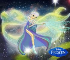 Queen Elsa. Frozen. Disney by Damian-Damian