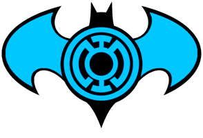 Blue Lantern Batman Logo idea by KalEl7