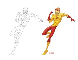 Kid Flash by NunoPlati