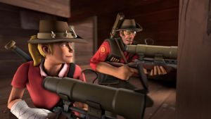 SFM Poster: Snipin' is easy by PatrickJr