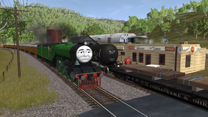 An English Engine in America by wildnorwester