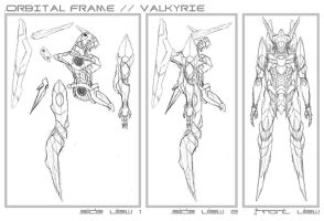 Valkyrie Concept Step 2 by Seig-Verdelet