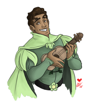 Disney Princes: Naveen by tsukinoyagami