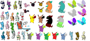 Leftover adopts by Raysaur