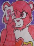 Love-a-Lot Bear: A Queen of Hearts by SuperAlex64