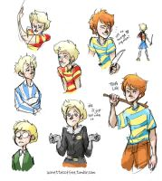 Mother 3 Doodles by lovely-iridescence