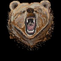 Pixel Bear by glogo by Design-By-Humans