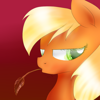 Applejack by Sasifrass