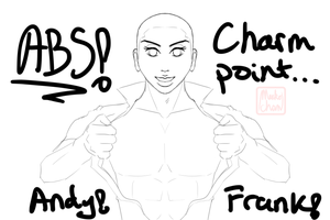 Abs! Charm Point... Andy! Frank! (2014) by Meekochan