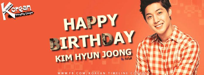 Happy BirthDay Kim Hyun Joong by Hayoma