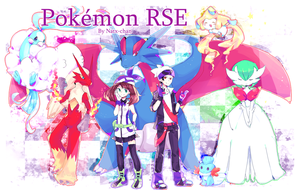 Pokemon RSE by Natx-chan