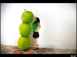 Hot Comme 3 pommes by nawelle