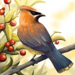 Layer Paint Cedar Waxwing by charfade