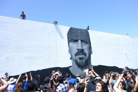 Mike Muir Mural Unveiling 5 by iancinerate