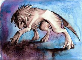 Absol - colored version by candid-silence